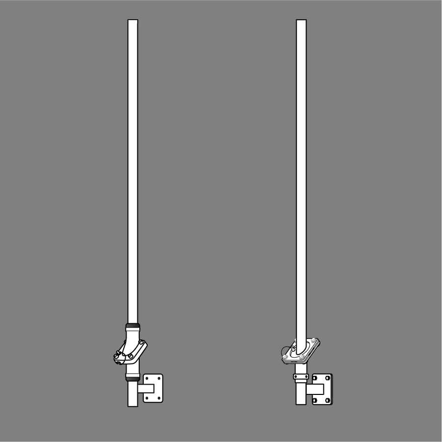 Swivelpole™ C-Series column and wall mounted lowering pole (IEC)