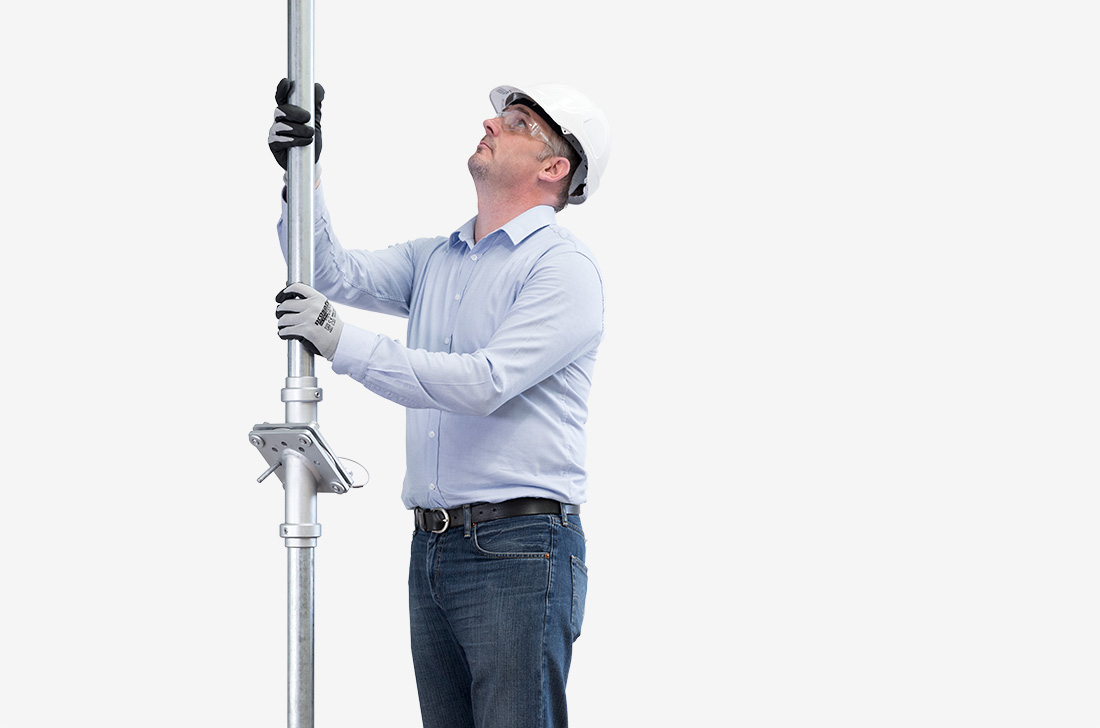 easily lower pole-mounted lights and equipment using a Swivelpole™